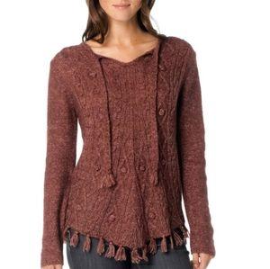 Prana EUC Shelby Poncho Sweater